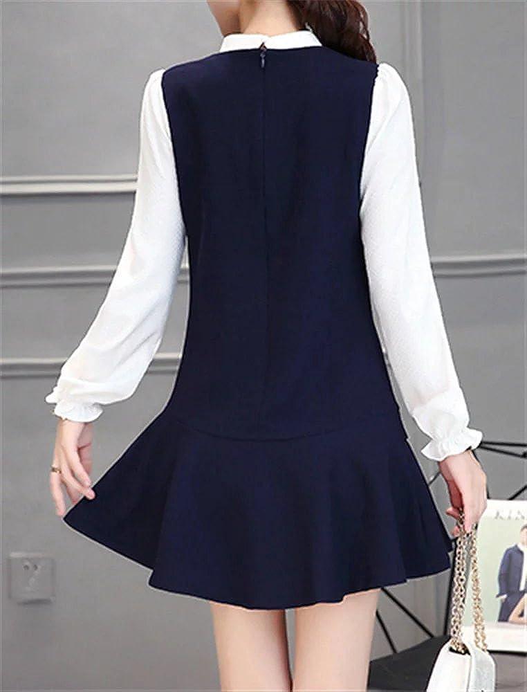 latud manga raglán larga de la mujer una línea Shift Fashion Fit & flare vestido: Amazon.es: Ropa y accesorios
