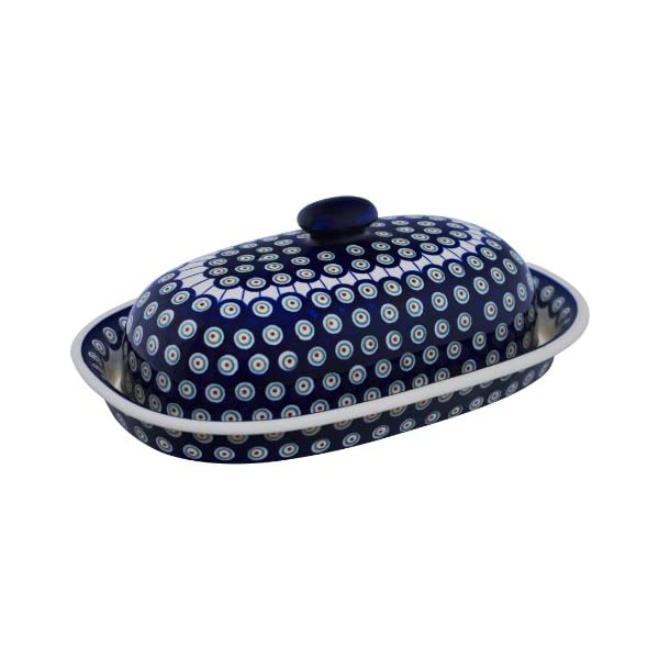 Boleslawiec Pottery Bread Bin, Original Bunzlauer Keramik, Decor 8