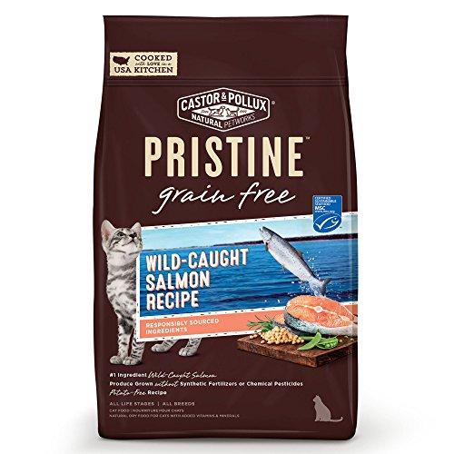 Castor & Pollux Pristine Wild-Caught Salmon Recipe Dry Cat F