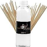 VANILLA LATTE Reed Diffuser Fragrance Oil Refill 250ml/8oz BONUS REEDS