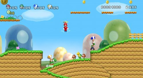 New Super Mario Bros. Wii by Nintendo (Renewed) by Nintendo (Image #1)
