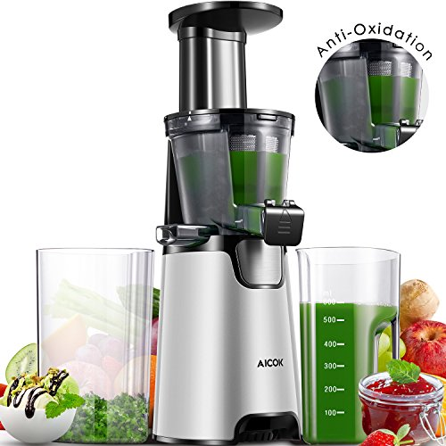 High Quality Juicer Slow Masticating Juicer Extractor, 3 Strainers For Frozen Desserts,  High Nutrient Fruit And Pictures