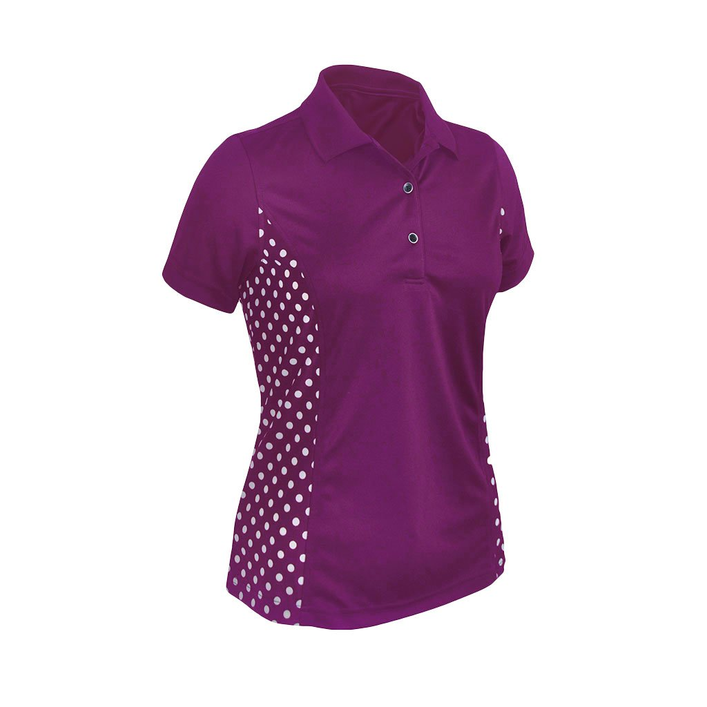 Monterey Club Ladies Dry Swing Contrast Shirt #2367