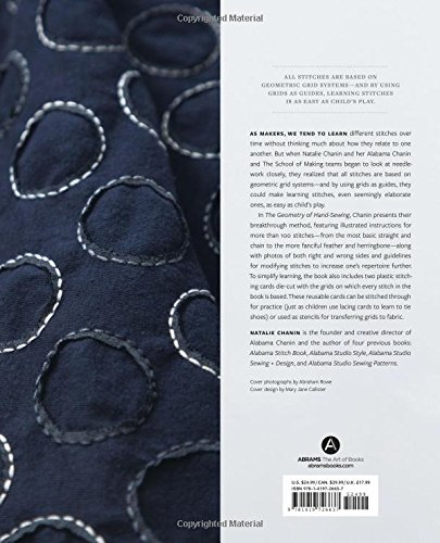 The Geometry of Hand-Sewing: A Romance in Stitches and
