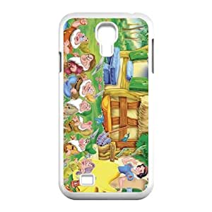 Samsung Galaxy S4 9500 Cell Phone Case White Snow White and the Seven Dwarfs Character Bashful obfy