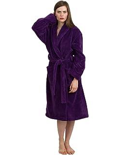 213ce0a3b0 TowelSelections Women s Super Soft Plush Bathrobe Fleece Spa Robe Made in  Turkey