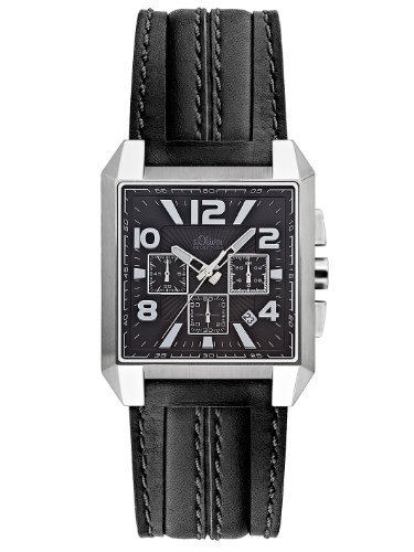 s.Oliver Men's Quartz Analogue Watch SO-2264-LC
