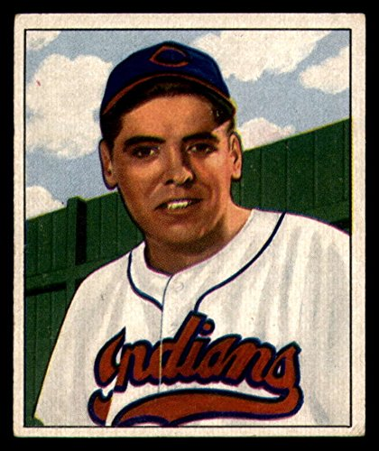 Baseball MLB 1950 Bowman #147 Mike Garcia EX Excellent RC Rookie Indians