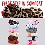 Baby-Boys-Girls-Cozy-Fleece-Booties-Newborn-Infant-Cotton-Boots-Warm-Winter-Socks-Slippers-Crib-Shoes-6-12-Months-Toddler-Lepard