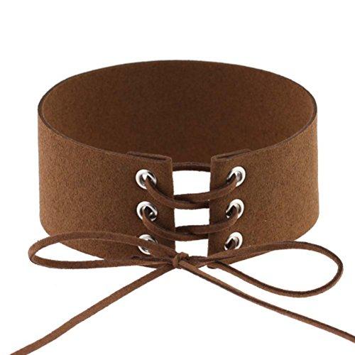 Leefi Vintage Harajuku Leather Necklace