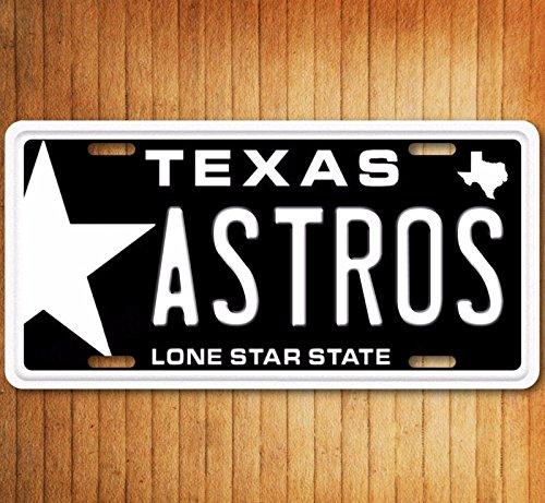 (Texas Astros Star Novelty License)