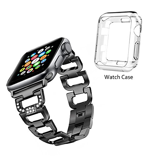 Magnve Bling Band Compatible Apple Watch Band 38mm