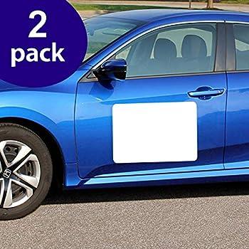Marietta Magnetics 2 Pack,12 x 18 30 MIL White CAR Sign Blanks