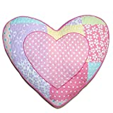 Cozy Line Stuffed Toy Doll Heart Decorative Pillow