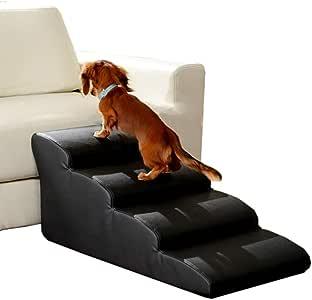 Escalera ZAY Impermeables Negras para Mascotas, Suaves para Gatos y Perros para el Hogar/Tiendas de Mascotas/Hospitales para Mascotas, Altura de 35cm/40cm/45cm/50cm: Amazon.es: Hogar