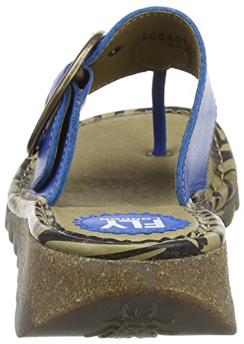 Electric Sandal Womens Fly Blue Trims London tqHvwAI