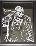 Horror Movie Character Etched Mirror