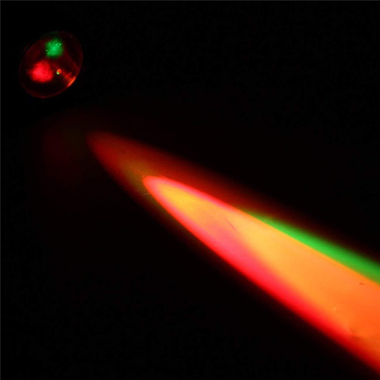 Tragbare LED-B/ühne Licht RGBW Pinspot Beam Scheinwerfer DJ Disco Ball Stage Lamp