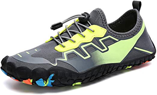SHYSBV Zapatos De Cinco Dedos Descalzos para Hombres Zapatos De Agua De Verano para Hombres Zapatos Ligeros De Agua para Exteriores Zapatillas Deportivas De Fitness-Dieciséis_7.5: Amazon.es: Hogar
