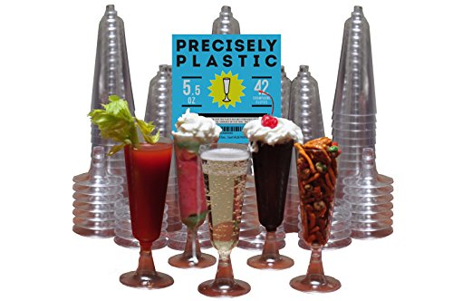 Champagne Plastic Disposable Cocktail Parfaits product image