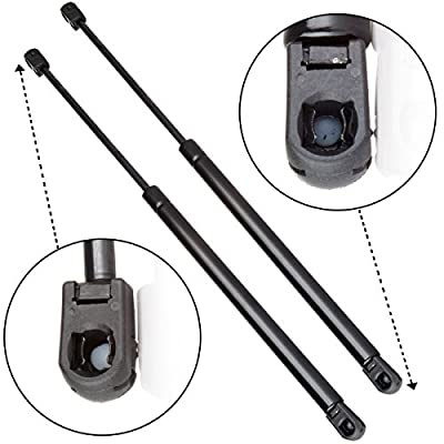 Scitoo 2 Pcs Tonneau Cover Top Truck Cap Lift Supports Shocks Strut 120 Lbs Replaces C16-08055