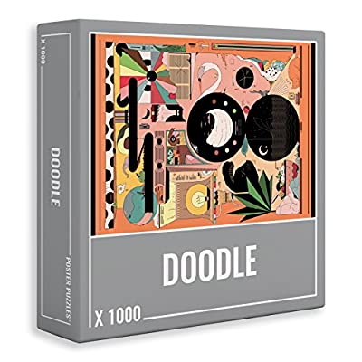 Cloudberries Doodle Puzzle Da 1000 Pezzi Di Qualit Superiore Per Adulti