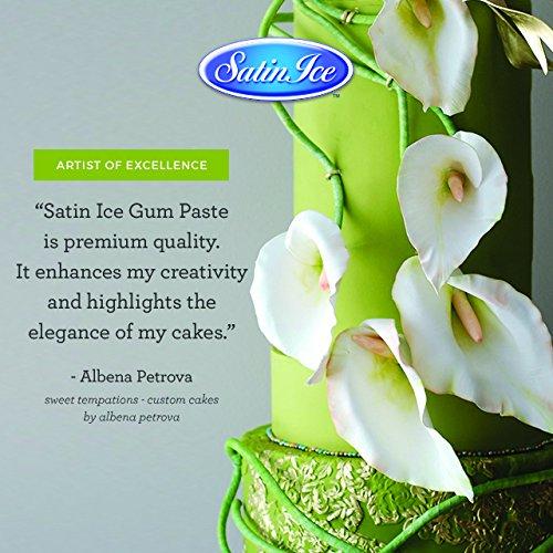 Satin Ice Bright Green Fondant, Vanilla, 2 Pounds by Satin Ice (Image #6)