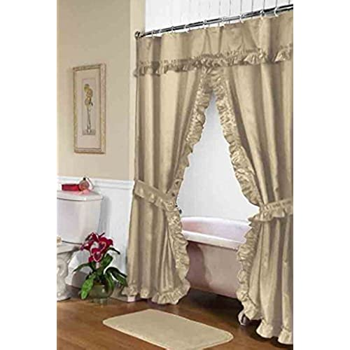 Shower Curtains with Valance: Amazon.com