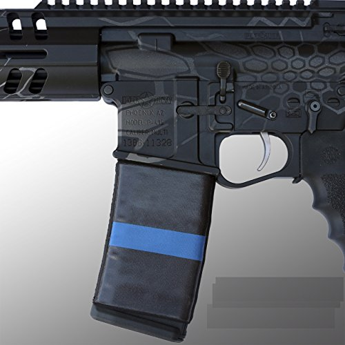 ultimate-arms-gear-ar-mag-cover-socs-for-30-40rd-polymer-pmag-mags-thin-blue-line