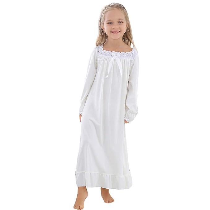 2e86fbe32 Gaga city Princesa Camisón para Niña y Mujer 100% Algodón Pijamas ...