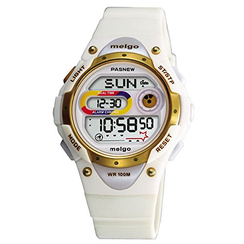 WISE Girls Watch, Ladies Watches, Waterproof 100m Watches, Digital Watches Sports Watches, 2001d (Manual Wind Chronograph)