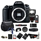 Canon EOS 77D DSLR Camera (Body Only) 24.2 MP CMOS - Pro Bundle - International Version