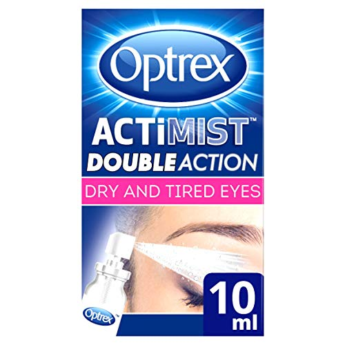 Optrex ActiMist 2in1 Eye Spray for Dry + Irritated Eyes 0.34oz (10ml)