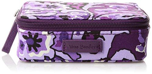 Vera Bradley Iconic Travel Pill Case, Lilac Paisley