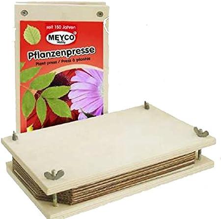 Prensa de flores / Prensa de planta 25 x 14 cm