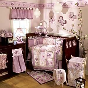 CoCaLo Sugar Plum 6 Piece Crib Bedding Set