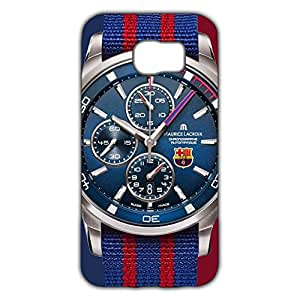 Popular Design FC FC Barcelona Team Logo Phone Case Cover For Samsung Galaxy S6 3D Plastic Phone Case