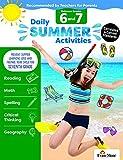 Evan-Moor Daily Summer Activities, Between 6th Grade and 7th Grade Activity Book; Summer Bridge Activities Workbook