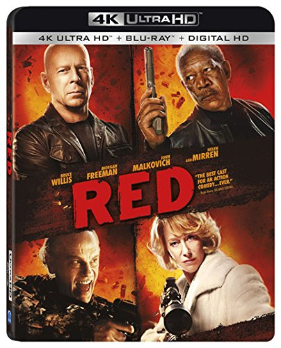 4K Blu-ray : Red (With Blu-Ray, 4K Mastering, 2 Pack, 2 Disc)