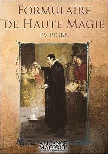 Book formulaire de haute magie