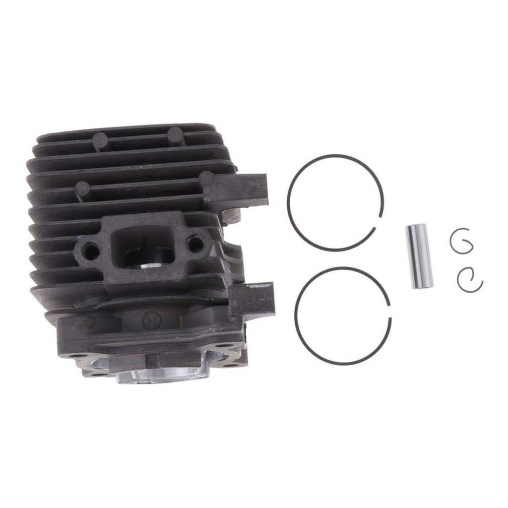 PETSOLA Kit de Piston /à Cylindre Segment Joints pour Stihl Stihl FS55 FS45 FS38 FC55 BG45 BG55 BR45 KM55 HL45 HS45 KM55 HL45 HS45 HS55