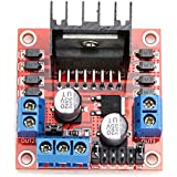 SODIAL(R)L298N H double pont DC Stepper Motor Drive Controller Module Board pour Arduino Rouge