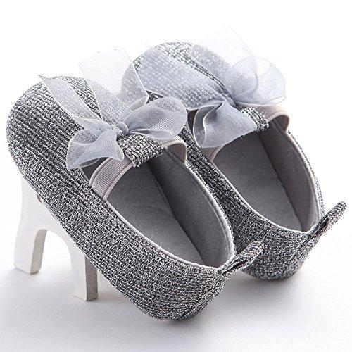waylongplus Baby Girl de senderismo Soft Sole Cuna zapatos de Prewalker Talla:13(12-18 meses)