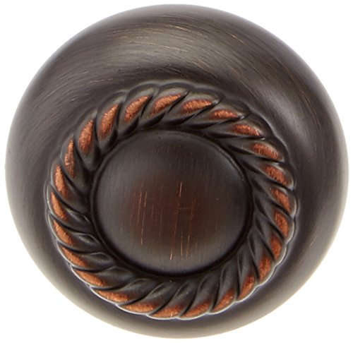 Amerock BP53471-ORB Allison Scroll Knob 1-1/4-Inch Diameter, Oil Rubbed Bronze - 25 Pack (Allison Wood Round)