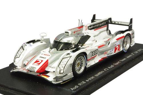1/43 アウディ R18 e-tron quattro アウディスポーツチーム ヨースト 2012年 ル・マン24時間 2位 #2 R.Capello/T.Kristensen/A.McNish S3701