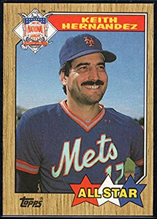 Amazoncom 1987 Topps Official Mlb Baseball Card 595 Keith