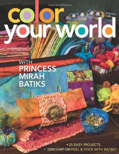 Color Your World: With Princess Mirah Batiks - Bali Comforter