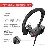 Wireless Bass Headphones ,HOMEWINS Best Wireless Sports Earphones HD Stereo Loud Bass Noise Cancelling Workout Headphones