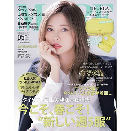 MORE 2019年5月号 増刊 画像