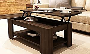 Amazon Caspian Lift Top Coffee Table with Storage